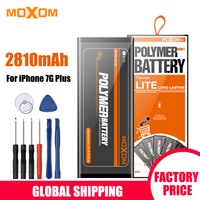 MOXOM Battery For iPhone 7 Plus 2810mAh High Capacity Apple iPhone 7 Plus Apple Battery Mobile Phone Battery With Free Tools