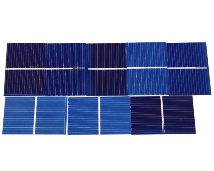 Aoshike 100pcs Solar Panel Sunpower Solar Cell photovoltaic panels Polycrystalline DIY Solar Battery Charger 0.5V 0.17W 39x26mm 2