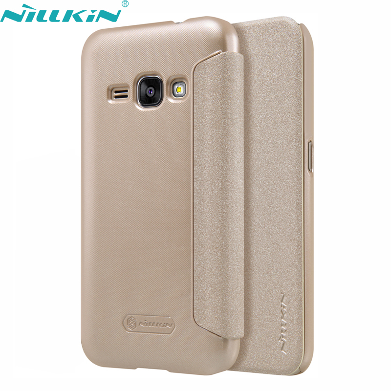 For Samsung Galaxy J SM JF  Leather Case Original Nillkin Quality