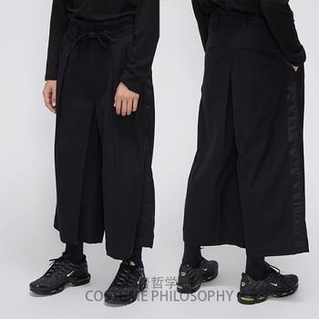 S-6XL!!Homemade men's slacks and skirt pants with matching dark samurai pants.