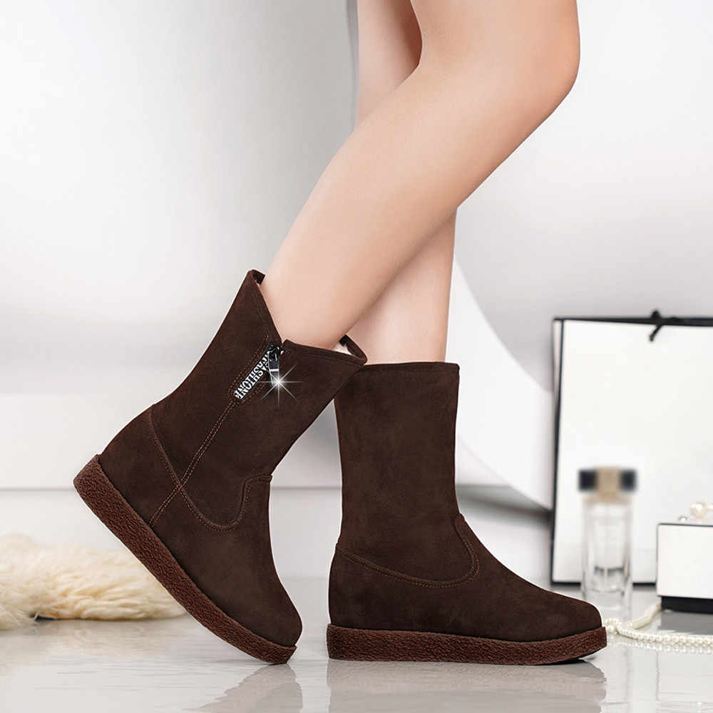 bfa40a3f4174 Detail Feedback Questions about YOUYEDIAN Women Boots Winter Super ...