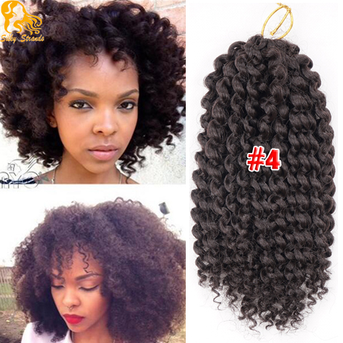 Synthetic Crochet Kinky Curly Hair Freetress Afro Kinky Curly Hair