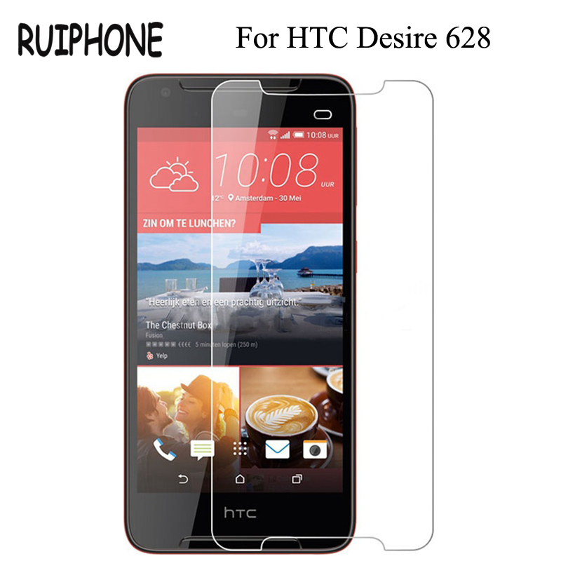 RUIPHONE Tempered Glass for HTC Desire 628 Screen Protector 9H 2.5D <font><b>Phone</b></font> <font><b>Protection</b></font> <font><b>Film</b></font> for HTC Desire 628 Tempered Glass