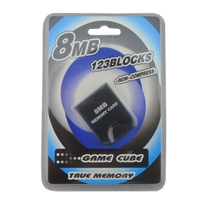 Image 4 - For N G C  gamepad One Button Wired Game Controller with 8MB Memory Card for Game Cube for G C for W i i Console