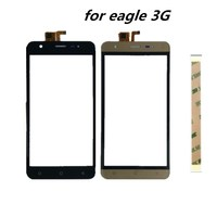 5.0inch For Vertex Impress Eagle 3G touch Screen Front Glass Panel Digitizer Repair Parts Lens Replacement cell phone