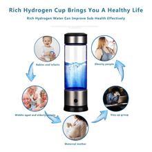 Portable SPE PEM Membrane Hydrogen Water Generator