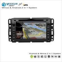 For GMC Sierra Savana Acadia Youkon Car Radio CD DVD Player GPS Navigation Advanced Wince Android