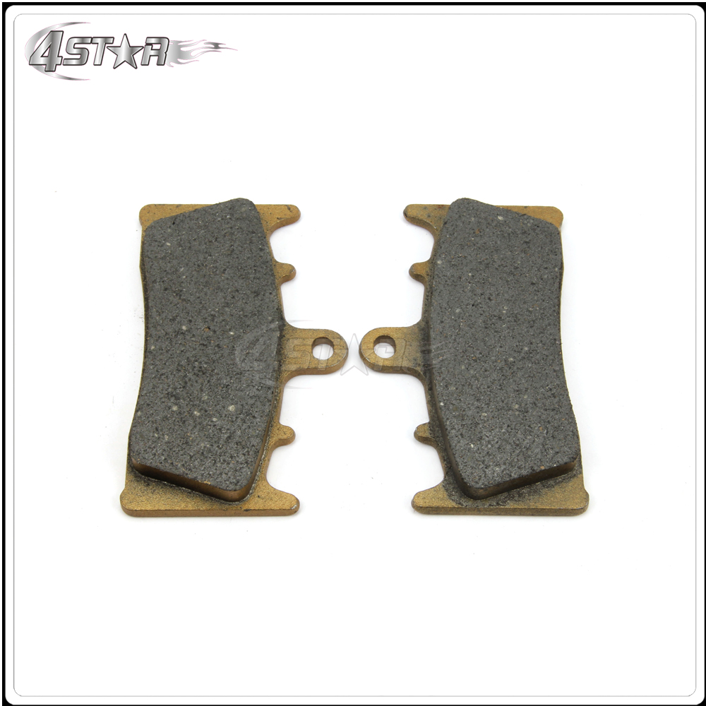 Front Brake Pads For ZX 6R 7R GPZ900 ZX 9R 12R ZRX110 ZRX1200 <font><b>VN1500</b></font> VN1600 For Motorcycle Racing Street Bike image
