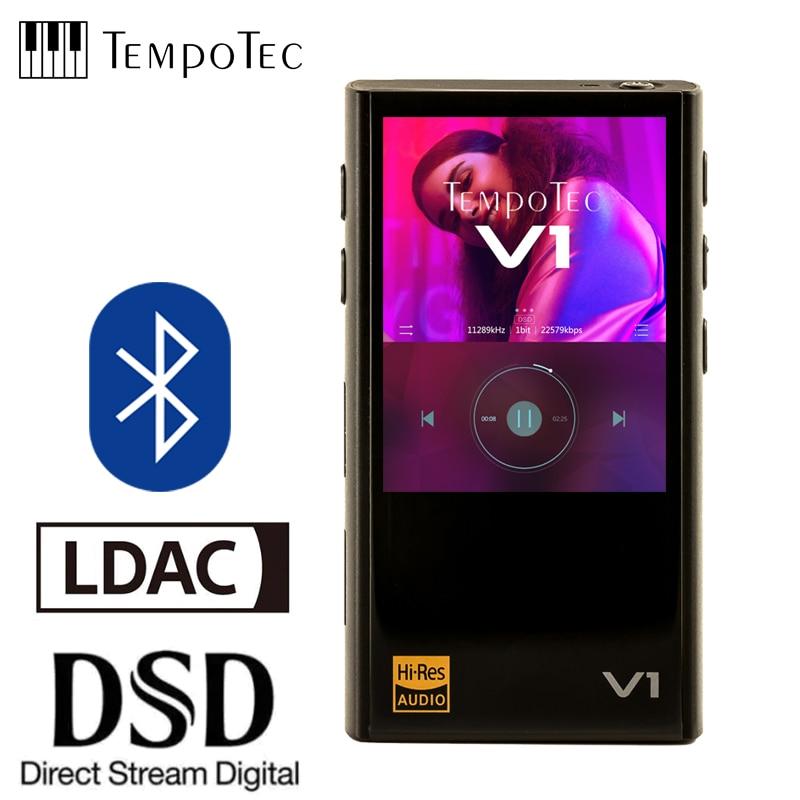 TempoTec Variations V1 Hifi lecteur MP3 numérique sans analogique et prend en charge Bluetooth LDAC IN & OUT pour USB DAC & amplificateur
