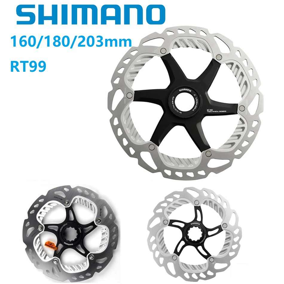 1c11d718b6e Detail Feedback Questions about SHIMANO X T R RT99 Disc Brake Rotor SM RT99  160mm 180mm 203mm Brake Disc Medium Lock Heat Dissipation Brake Rotor Japan  ...