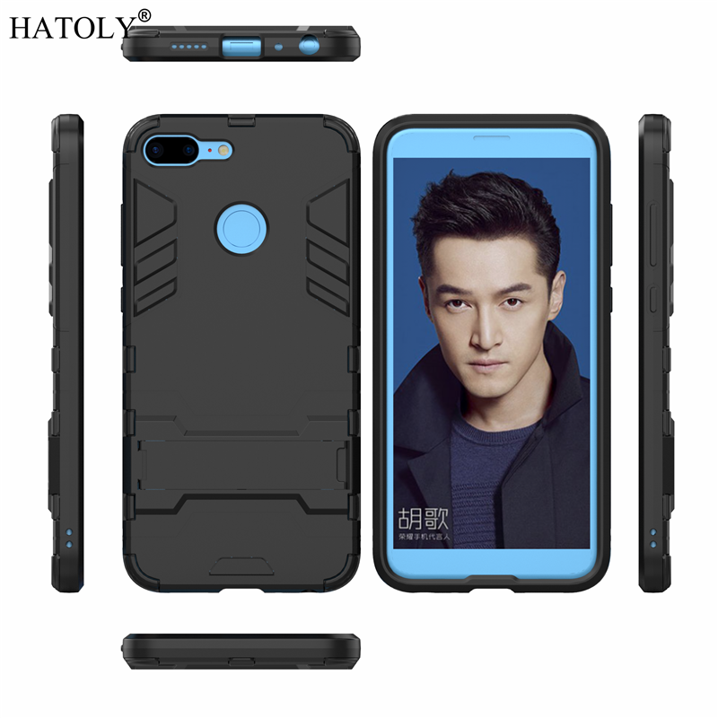Cover Huawei Honor 9 Lite Case Rubber Robot Armor Shell Hard Phone Case for Huawei Honor 9 Lite Cover for Huawei Honor 9 Lite