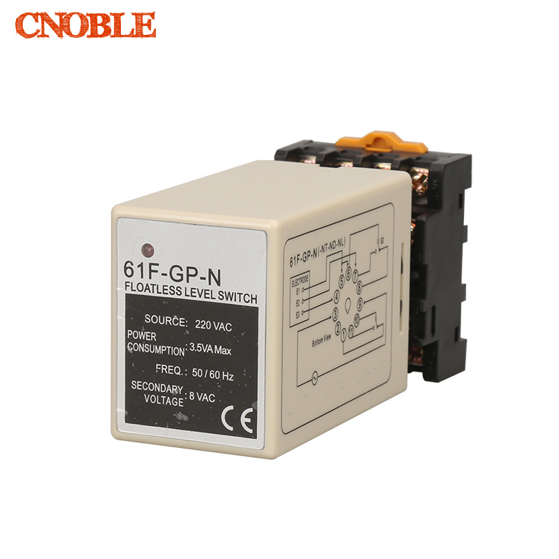 все цены на 61F-GP-N AC220V level relay C61F-GP-N water level controller switch pump automatically switches with base онлайн