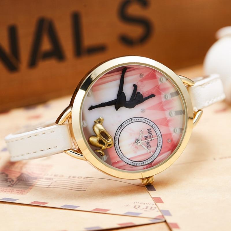 Μωρό Keke Νέο 3d Clay Χαριτωμένο Mini World Ballet - Γυναικεία ρολόγια - Φωτογραφία 3