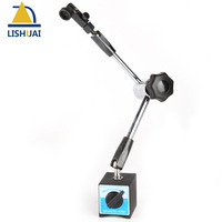 LISHUAI Universal Metal Holder Stand For Dial Test Indicator Flexible Tool Magnetic Base With Stand WCE