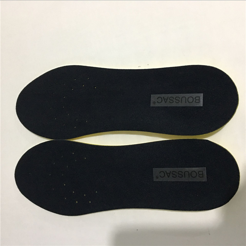 BOUSSAC YZ 101-119 Shoe Insoles Breathable Half Insole Heighten Heel Insert Sports Shoes Pad Cushion Unisex Increase Insoles