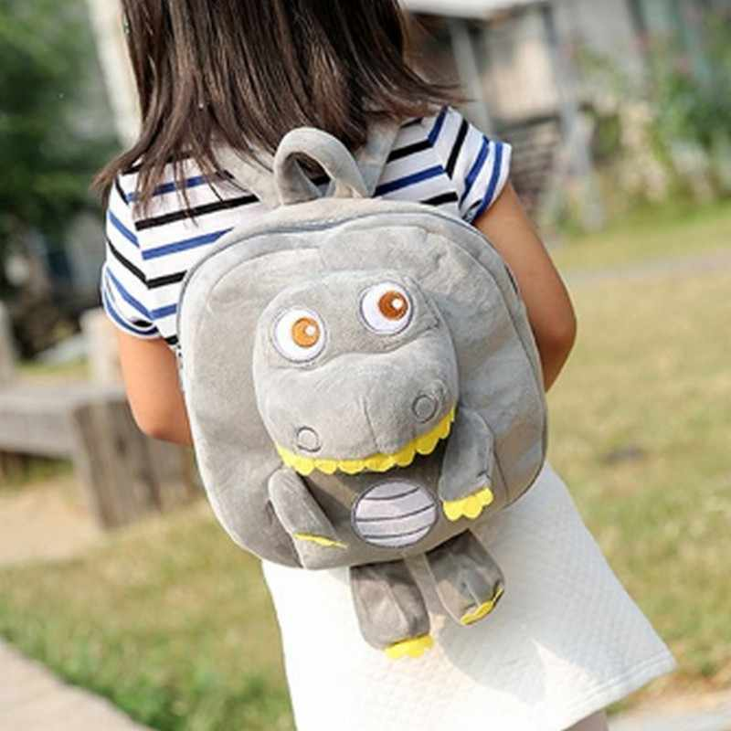 Мультяшный плюшевый динозавр, детские рюкзаки, детский школьный рюкзак для детского сада, пять цветов, детские школьные сумки, рюкзаки для мальчиков и девочек