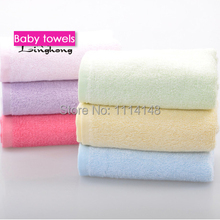 6piece/set baby bamboo towel Charcoal bamboo fibre towel super soft cotton 100% beauty cleansing face towel 25*25