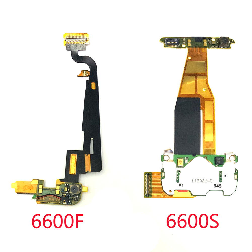 For Nokia 6600S 6600F 6600 LCD Screen Connector Flex Ribbon Cable Board Replacement Parts Flex Cable