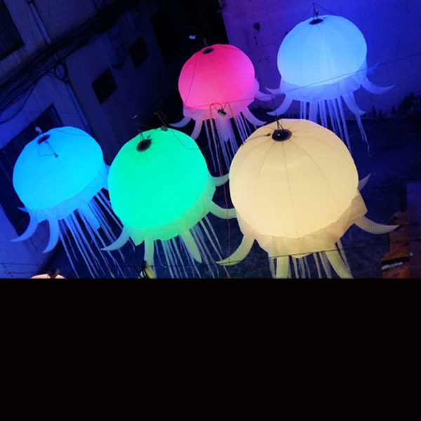 Free shipping beautiful inflatable jellyfish decorations inflatable jellyfish star