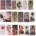 Цветок Волк Кожаный Бумажник Стенд Телефон чехол Для LG Leon G4 G3 G4 мини G3 Stylus/D690 G5 V10 K10 K4 K8 G4 Стилус/LS770