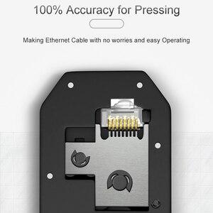 Image 5 - SAMZHE, cortador de cables, pelador automático de cables, herramientas de pelado multifuncionales, alicates de prensado para teléfonos Ethernet 6P/8P