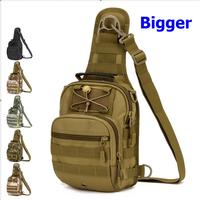 Tactical Chest Bag Outdoor Cycling Crossbody Bag Men S Bags For IPAD4 5 Large Shoulder Bag