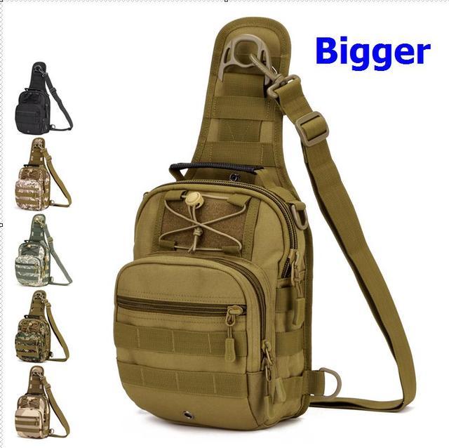 Saco peito saco crossbody, bolsas masculinas para IPAD4, 5 bolsa de ombro grande A3131