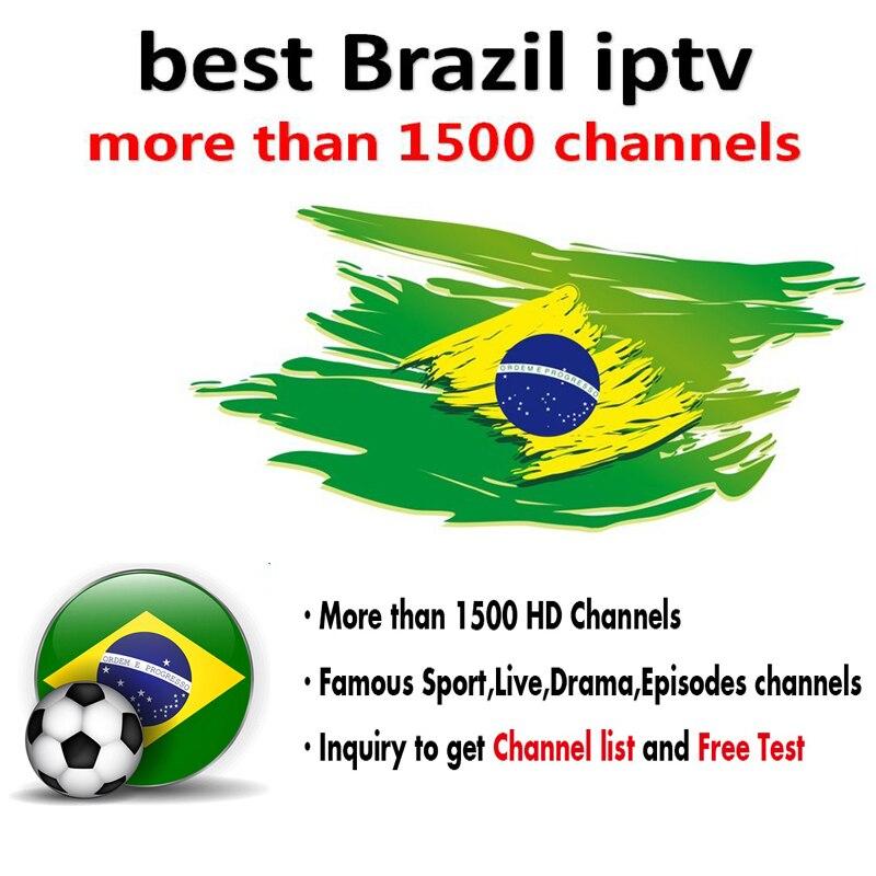 Worldwide delivery iptv box 4k brasil in Adapter Of NaBaRa
