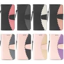 Flip Stitching Wallet Leather Case Soft TPU Phone Silicone Cover Shell Coque Funda for Apple iPhone 6 6G 6S 7 8 Plus X XS Max XR dream catcher soft black tpu phone case silicone bag skin cover shell coque funda for apple iphone 6 6s 7 8 plus x xs max xr i6
