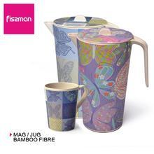 Фиссман 1700 мл кувшин из бамбукового волокна BPA бесплатно чайник для воды