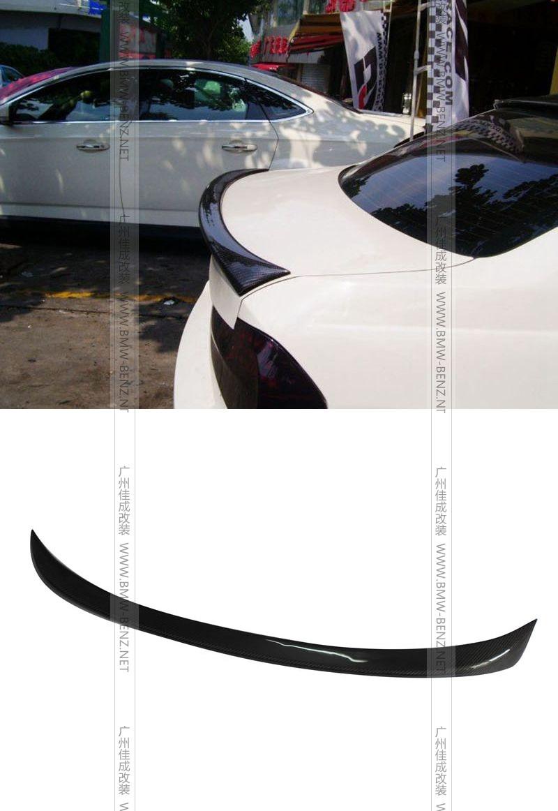 Top quality E90 MT style carbon fiber rear spoiler car trunk lip auto boot wing spoiler for BMW E90 car styling car accessories carbon fiber auto car rear trunk wing lip spoiler for audi for a3