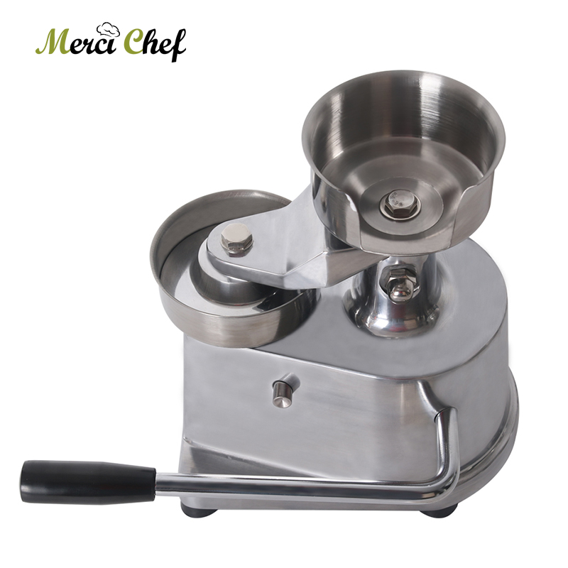 ITOP 100mm/130mm Diameter Hamburger Patty Maker Commercial Burger Meat Press Machine Aluminum Alloy Food ProcessorITOP 100mm/130mm Diameter Hamburger Patty Maker Commercial Burger Meat Press Machine Aluminum Alloy Food Processor