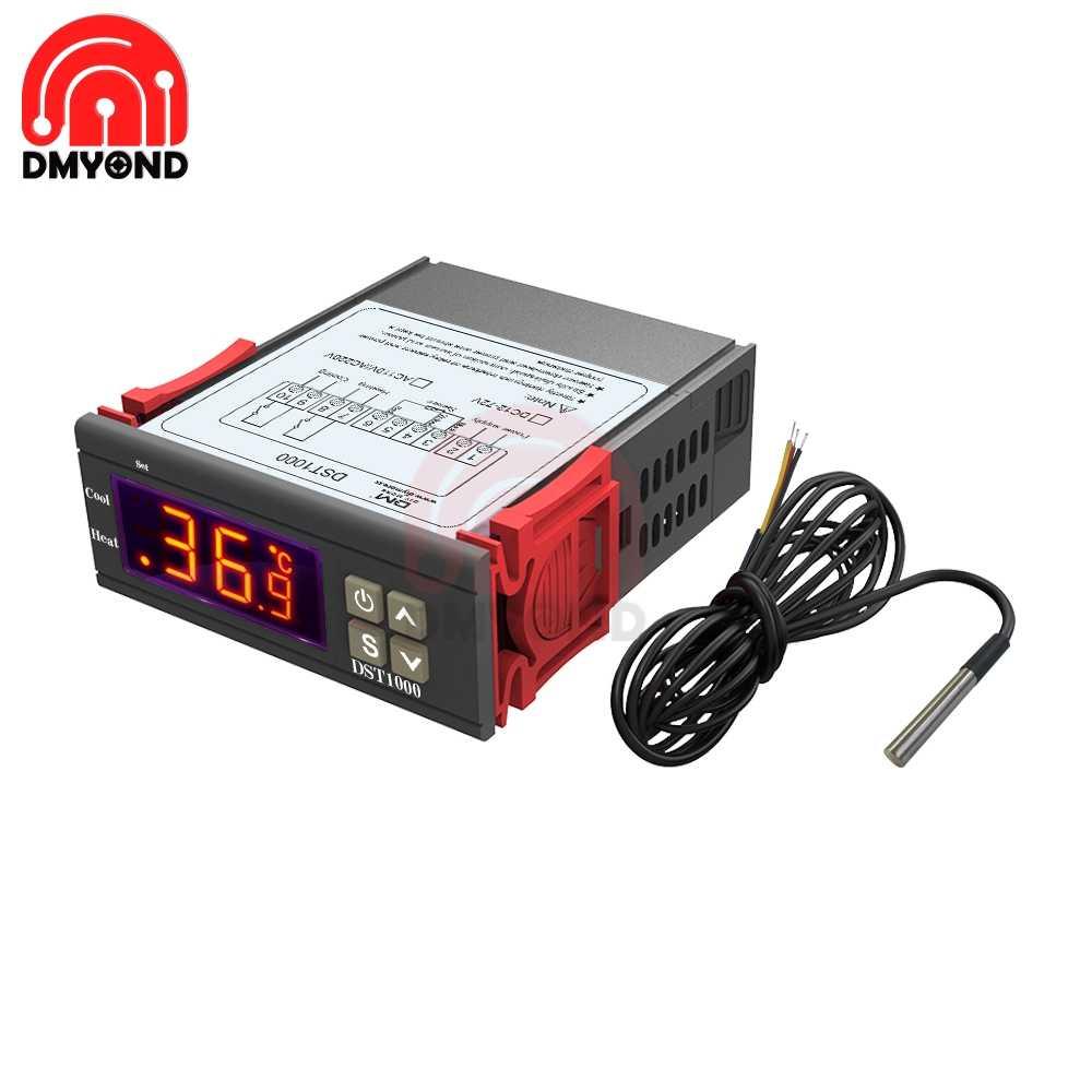 medium resolution of  12v led digital thermostat temperature controller regulator incubator weather station sensor meter replace stc 1000 on aliexpress com alibaba group
