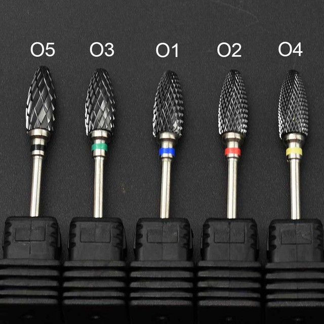 Jewhiteny Ceramic Nail Drill Bits Mill Cutter Manicure Machine Accessories Rotary Burr Electric Nail Files Nail Art Tools 2