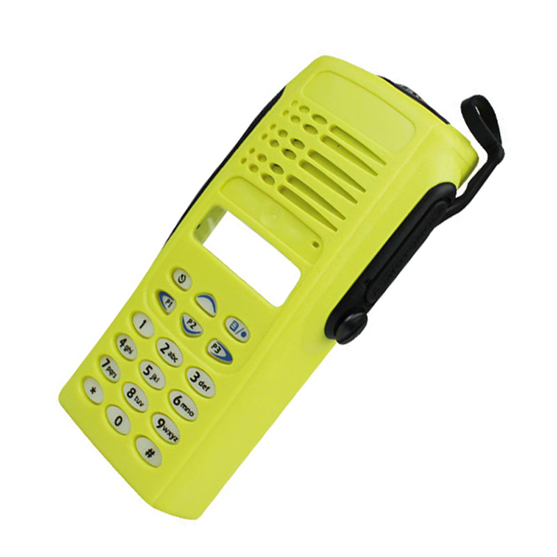 Yellow Complete Radio Service Parts Front Case Housing Cover Refurb Kit For Motorola Radio GP338 GP380 PTX760 Walkie Talkie