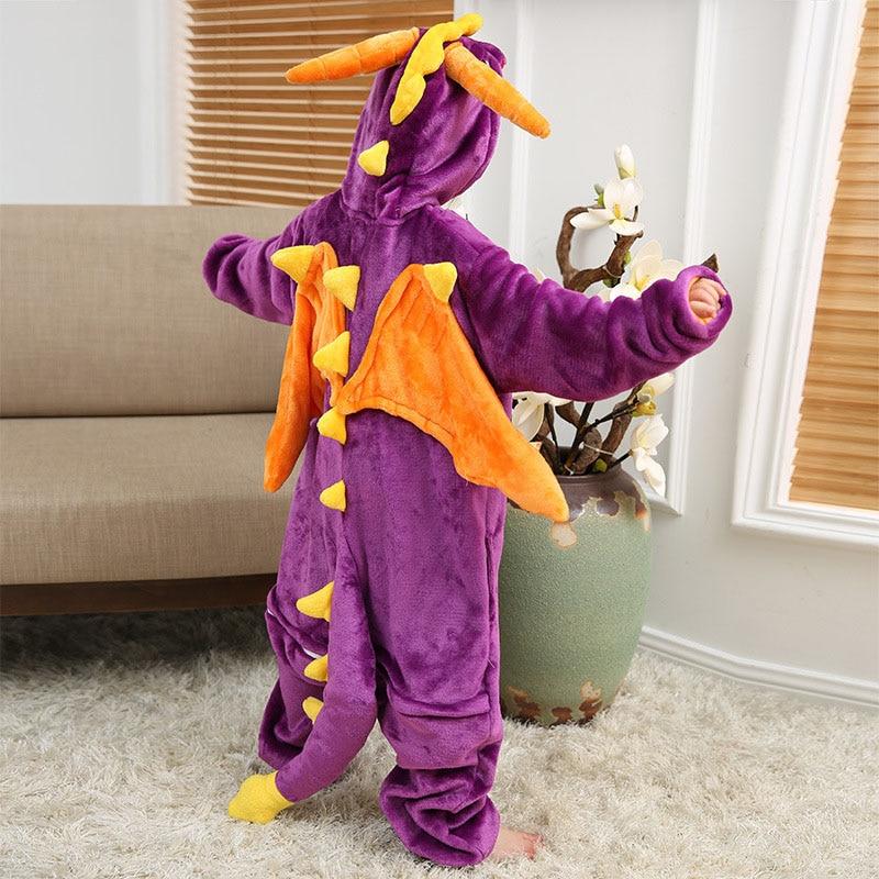 eoicioi criancas kigurumi pijamas flanela animal pegasus 04