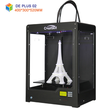 CreatBot DE PLUS02 Large Build Size 400*300*520 mm Dual Extruder 3d metal printer pvc printer China