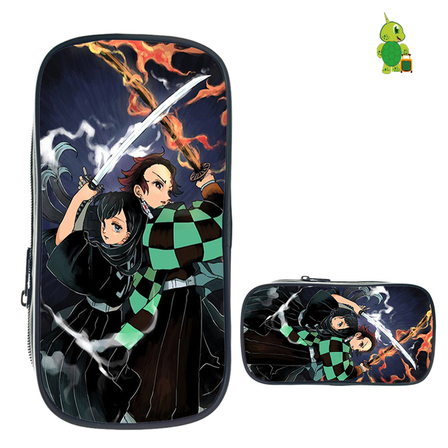 Demon Slayer: Kimetsu No Yaiba Pencil Bag Cosmetic Cases