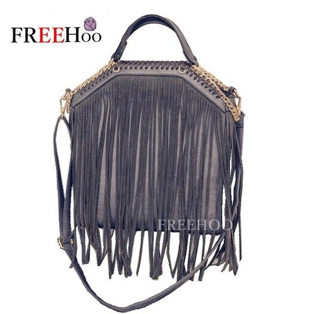 2017 новый Европейской и Американской моды цепи кисточки сумки большой емкости бренд дизайнер Стелла Сумка Crossbody женщин сумки
