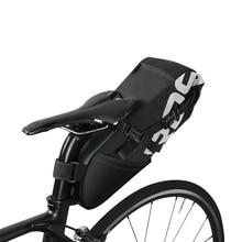 8L MTB Bike Bag Cycling Bicycle Saddle Tail Rear Seat Waterproof Storage Bags Bike Rear Seat Rack Storage Trunk Bag Pannier