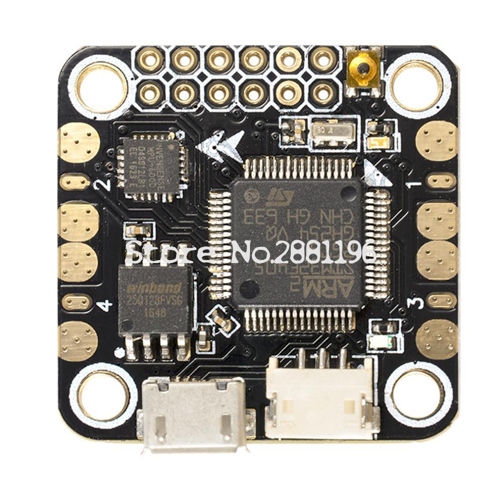 Новая панель мини-контроллера полета F4 Встроенный OSD 5 В/1A 2-4S для радиоуправляемого мультикоптера квадрокоптера
