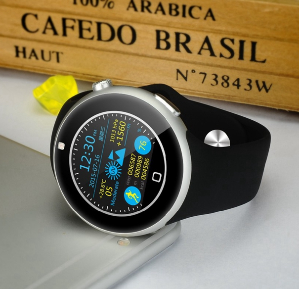 Bluetooth font b smart b font font b watch b font Waterproof WristWatch Sport LED Screen
