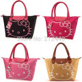 Candy color famous brand leather women female designer tote shoulder hello kitty handbags high quality bags carteras mujer 5