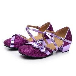 baby girl shoes Toddler Baby Kids Girls Single Party Princess Dancing Ballroom Tango Latin Shoes menina