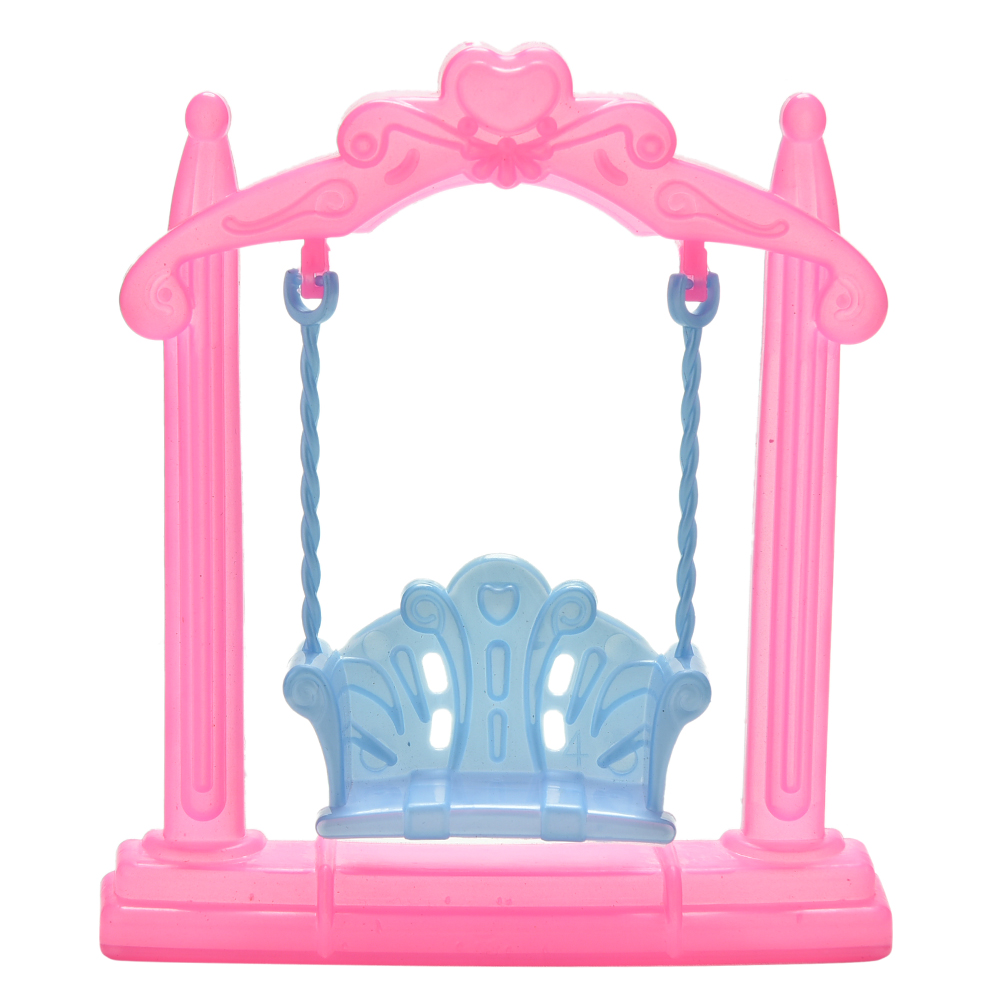 1Pcs Hot Sale New Fashion Mini Plastic Swing For Dolls Accessories Kids Best Toys Gifts Wholesale