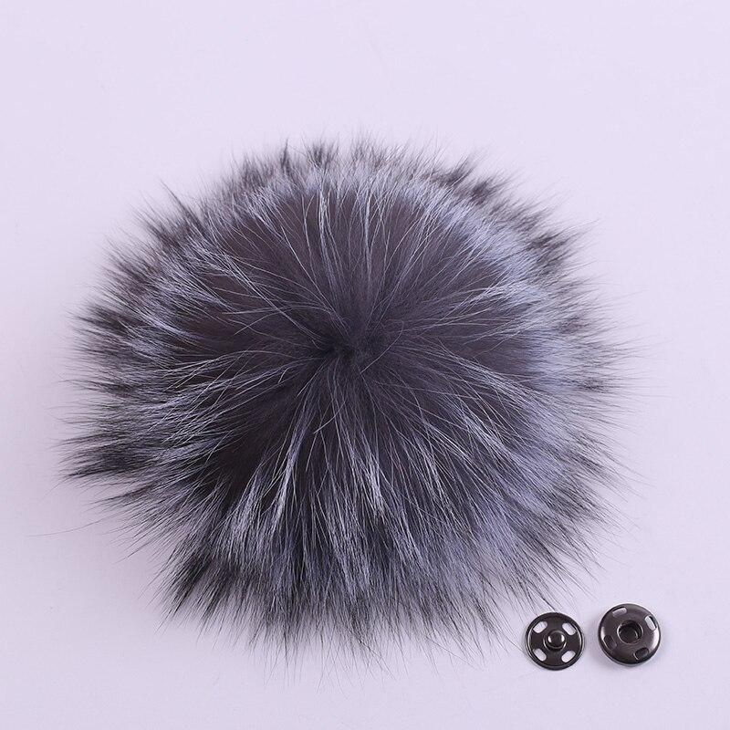 Pudelmützen Und Beanies Erfinderisch Mppm 12 Farbe Waschbären Pelz Pom Poms Ball Für Hut Mit Schnalle Echt Waschbären Pelz Pom Poms Ball 15-16 Cm 17-18 Cm