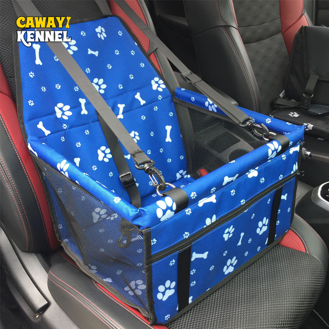 CAWAYI KENNEL Waterproof Pet Dog Cat Car Seat Cover Bag Carriers Small Animal Dog Mat Blanket Safety Belt Mat Protector D1396