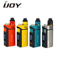Original IJOY RDTA BOX Kit 200W with 12.8ml tank Capacity RDTA BOX MOD with IMC-3 Coil Deck E-Cigarette Vape Kit 200W RDTA  imc