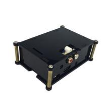Analog audio board Case Black I2S interface HIFI DAC expansion board Acrylic case box shell for audio board