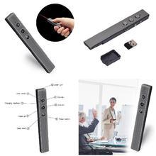 Cheap price 2.4GHz Wireless Remote Presenter Laser Pointer Pen PPT Remote Control for Powerpoint Presentation GDeals